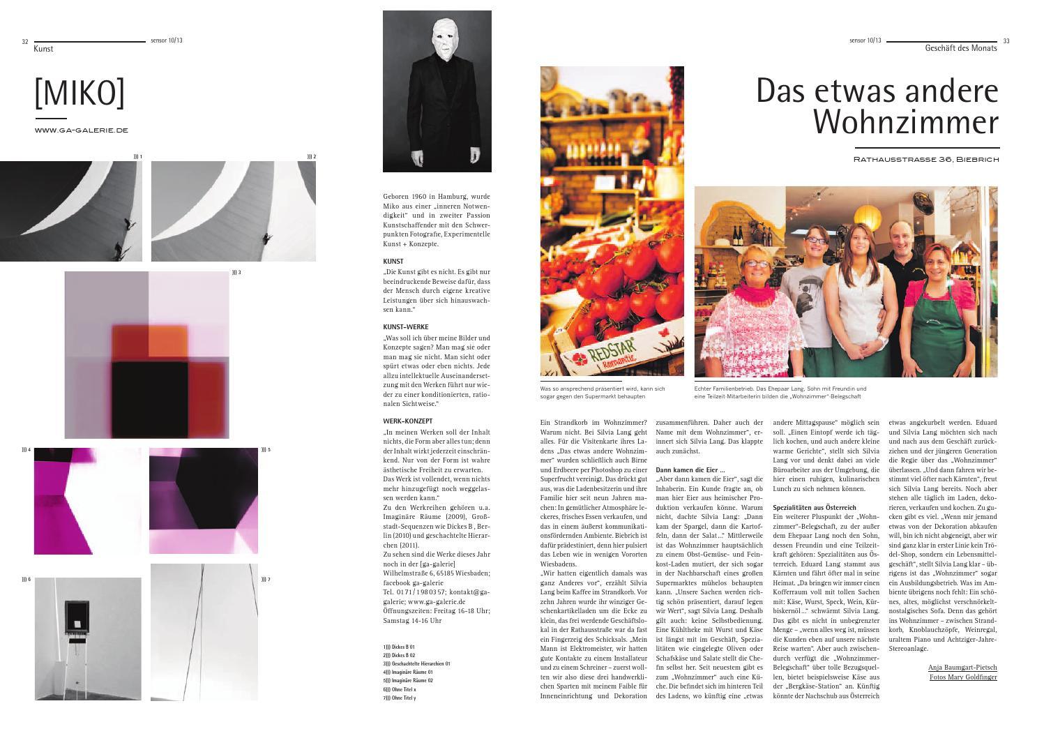 Sensor Wiesbaden 17 Oktober 2013 By Magazin
