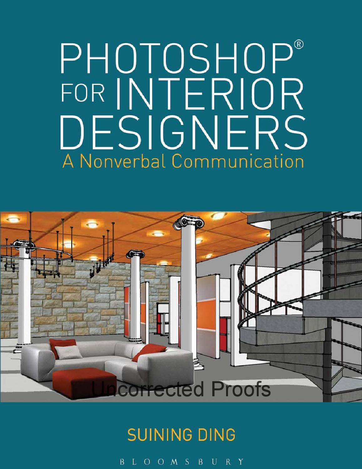 Photoshop For Interior Designers By Suining Ding Bloomsbury Publishing