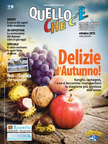Quello che c è - Ottobre 2013 by quellochece.com - issuu 4d174986ea27