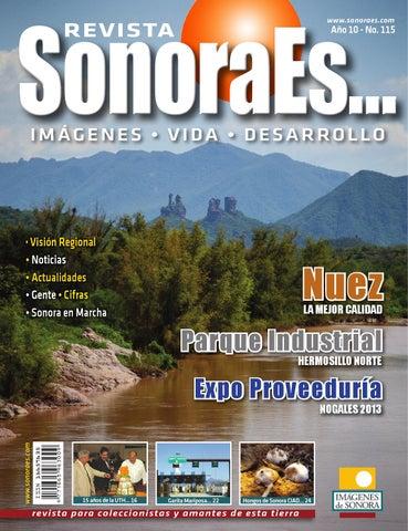 847efd1386 Revista SonoraEs num 115. Oct 2013 by Imagenes de Sonora - issuu