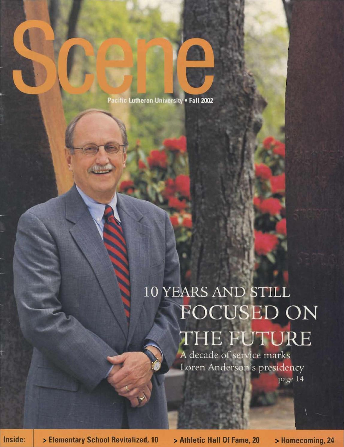 cdda50127ee 2002 2003 v 33 no 1 4 by Pacific Lutheran University Archives - issuu