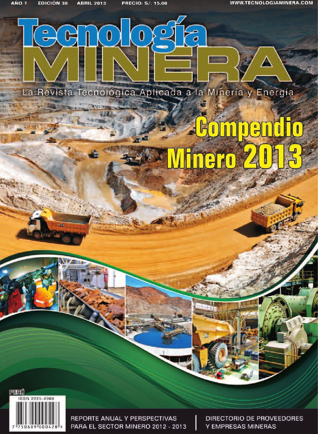revista tecnologia minera 38 by pull creativo issuu