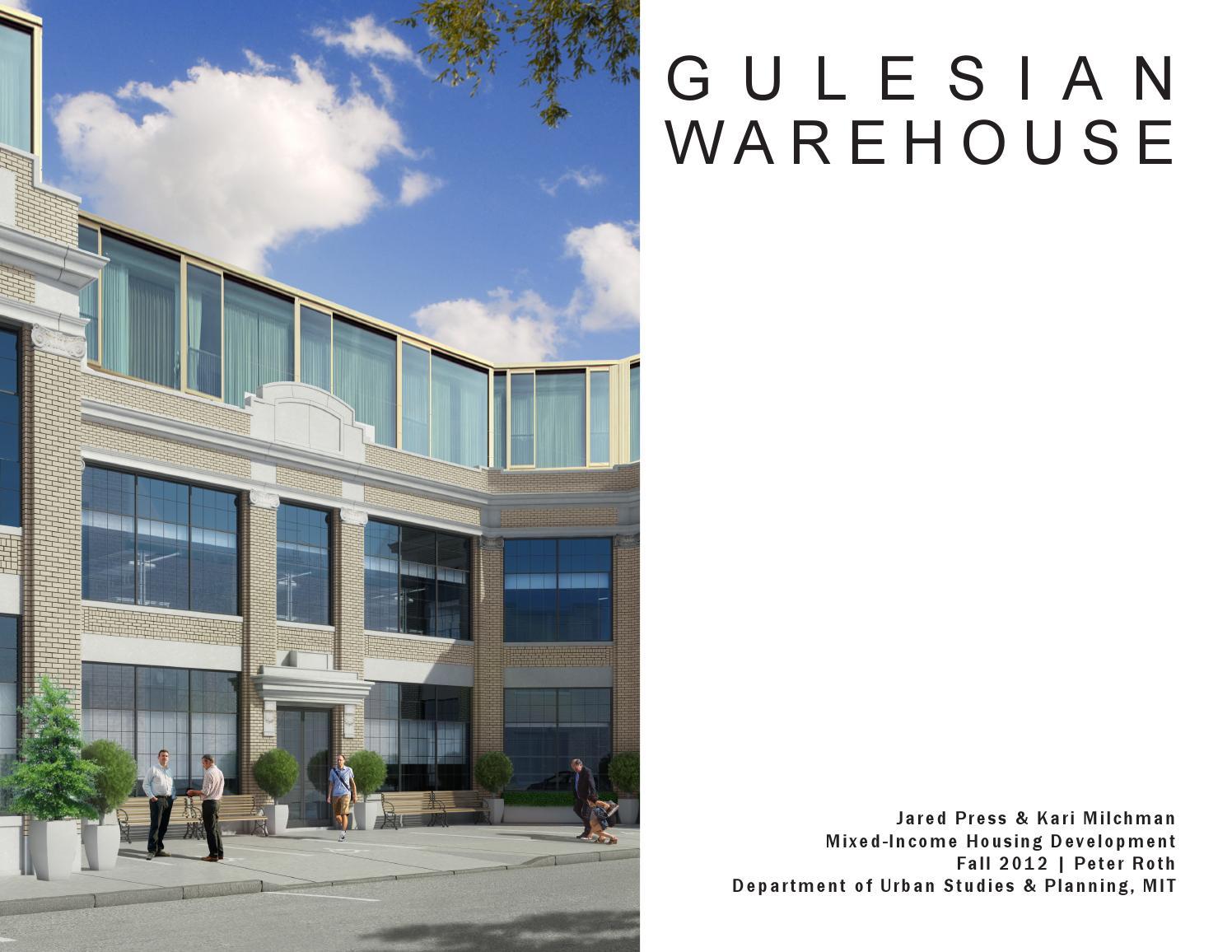 Gulesian Warehouse - A Mixed-Income Housing Development