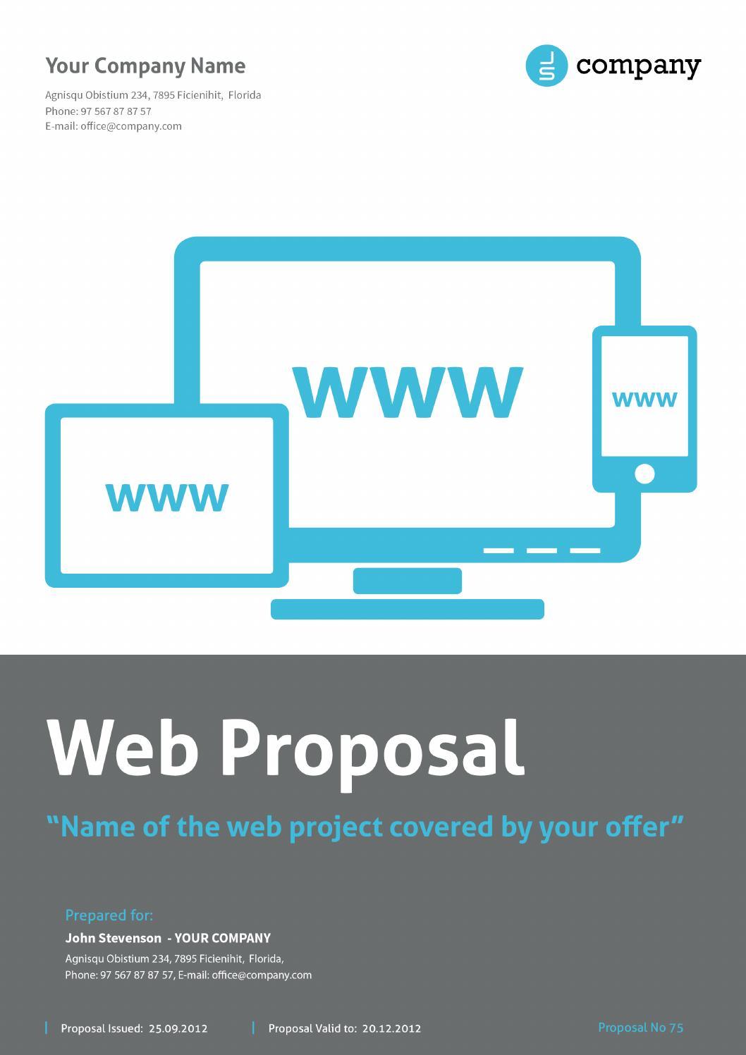 web proposal by paulnomade by paulnomade issuu