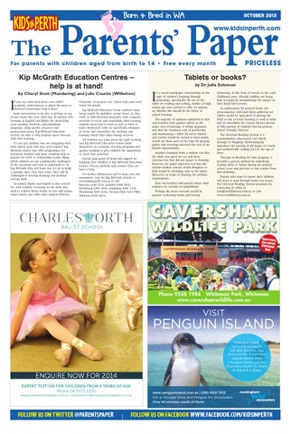 KIPOCT13 by Kids in Perth - The Parents' Paper - issuu