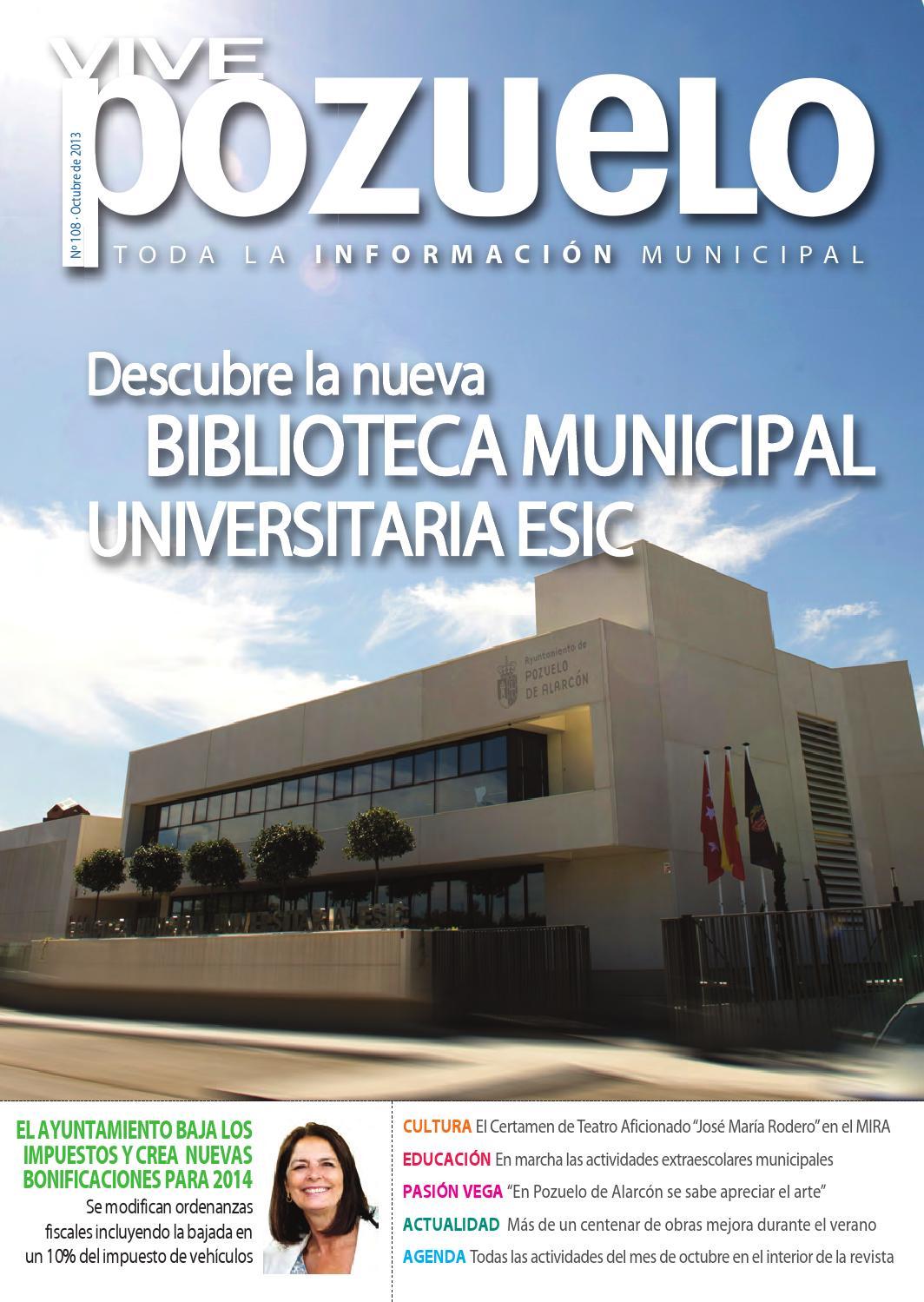 Vive pozuelo octubre 2013 by ayuntamiento de pozuelo de alarc n issuu - Obra nueva pozuelo de alarcon ...