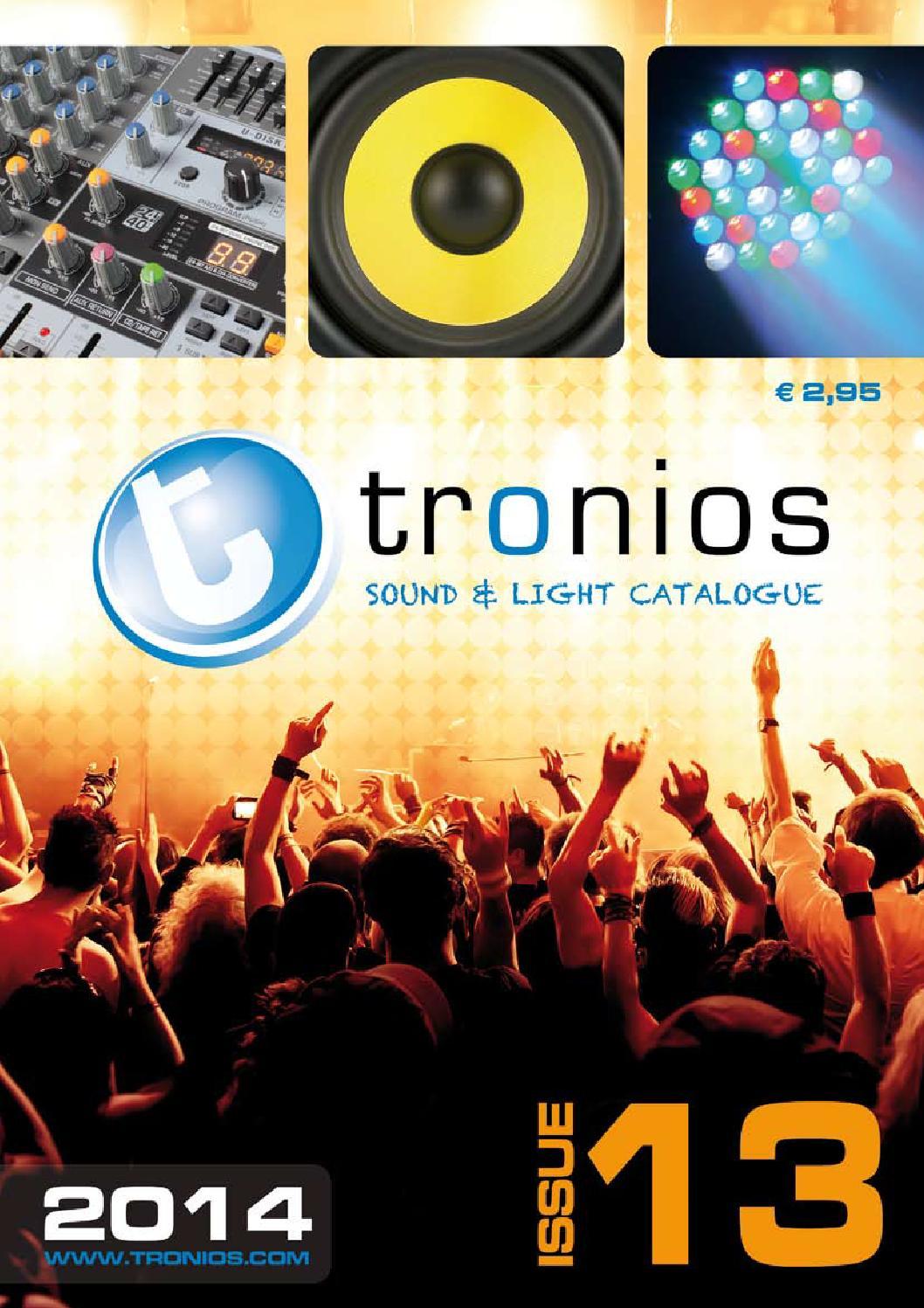 Sound Light Catalogue 2014 English By Tronios Bv Issuu Stk Audio Ic 60w
