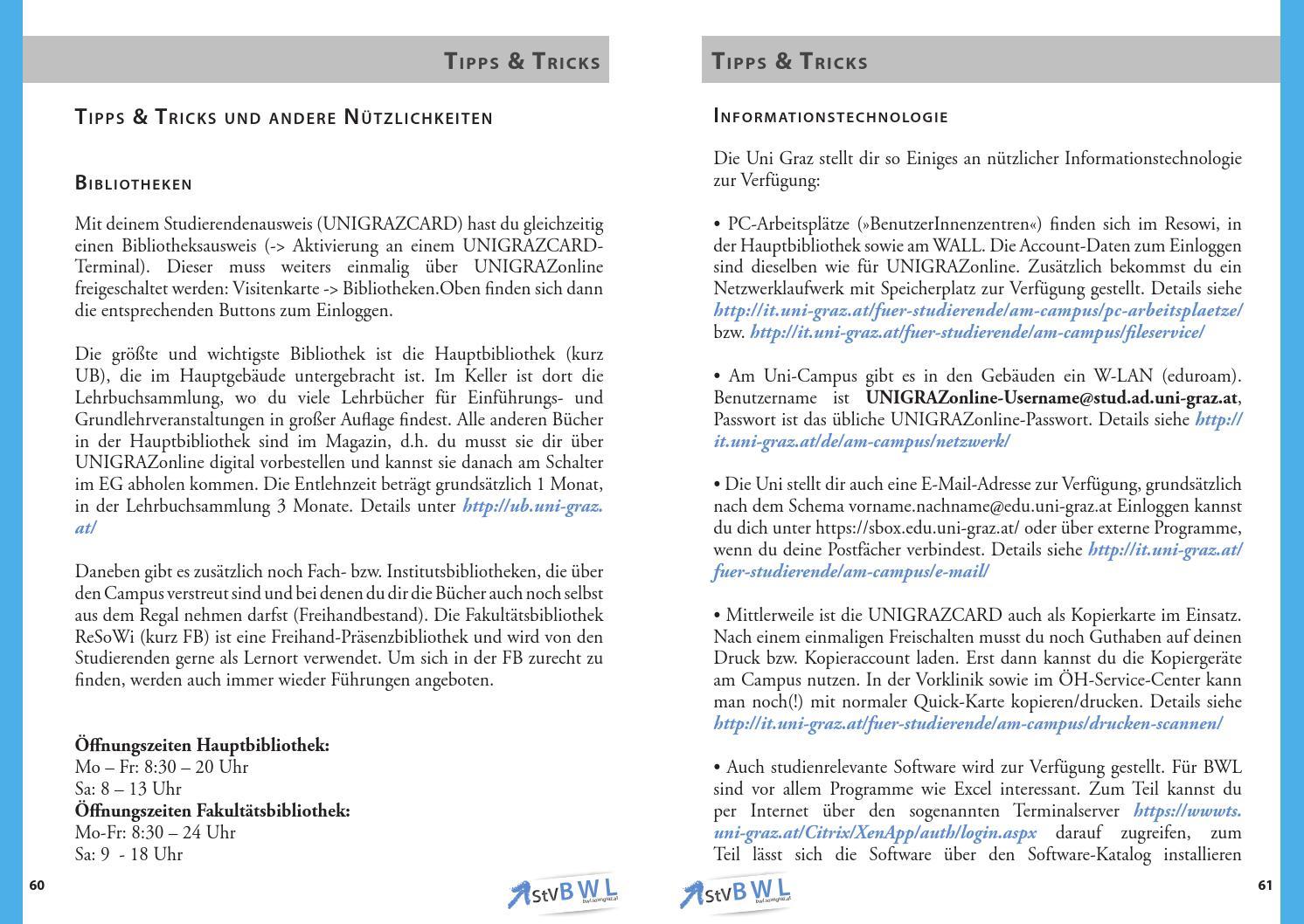 Studienleitfaden Bwl Ws 1314 By Oeh Unigraz Issuu