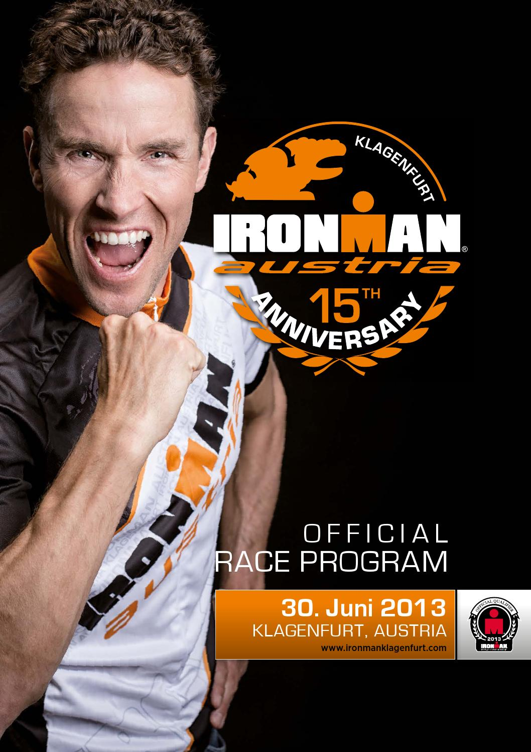 IRONMAN Austria 2013 Racebook by Tom Ogris - issuu