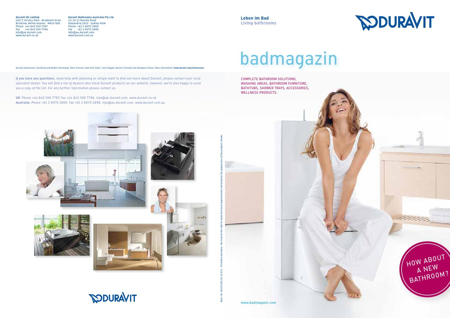 duravit news magazine 2013 by just add water issuu. Black Bedroom Furniture Sets. Home Design Ideas