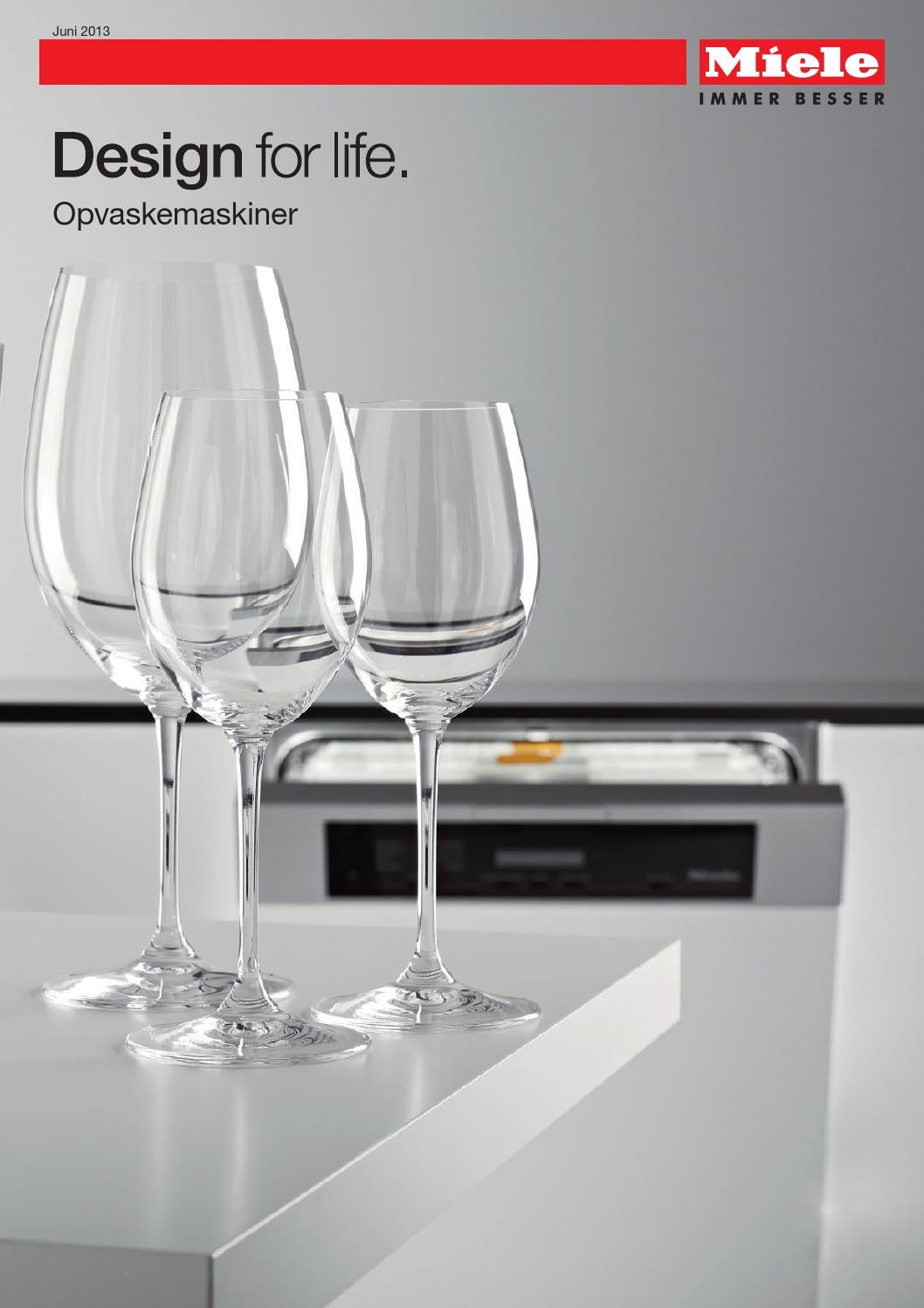 miele katalog opvaskemaskiner dk by miele issuu. Black Bedroom Furniture Sets. Home Design Ideas