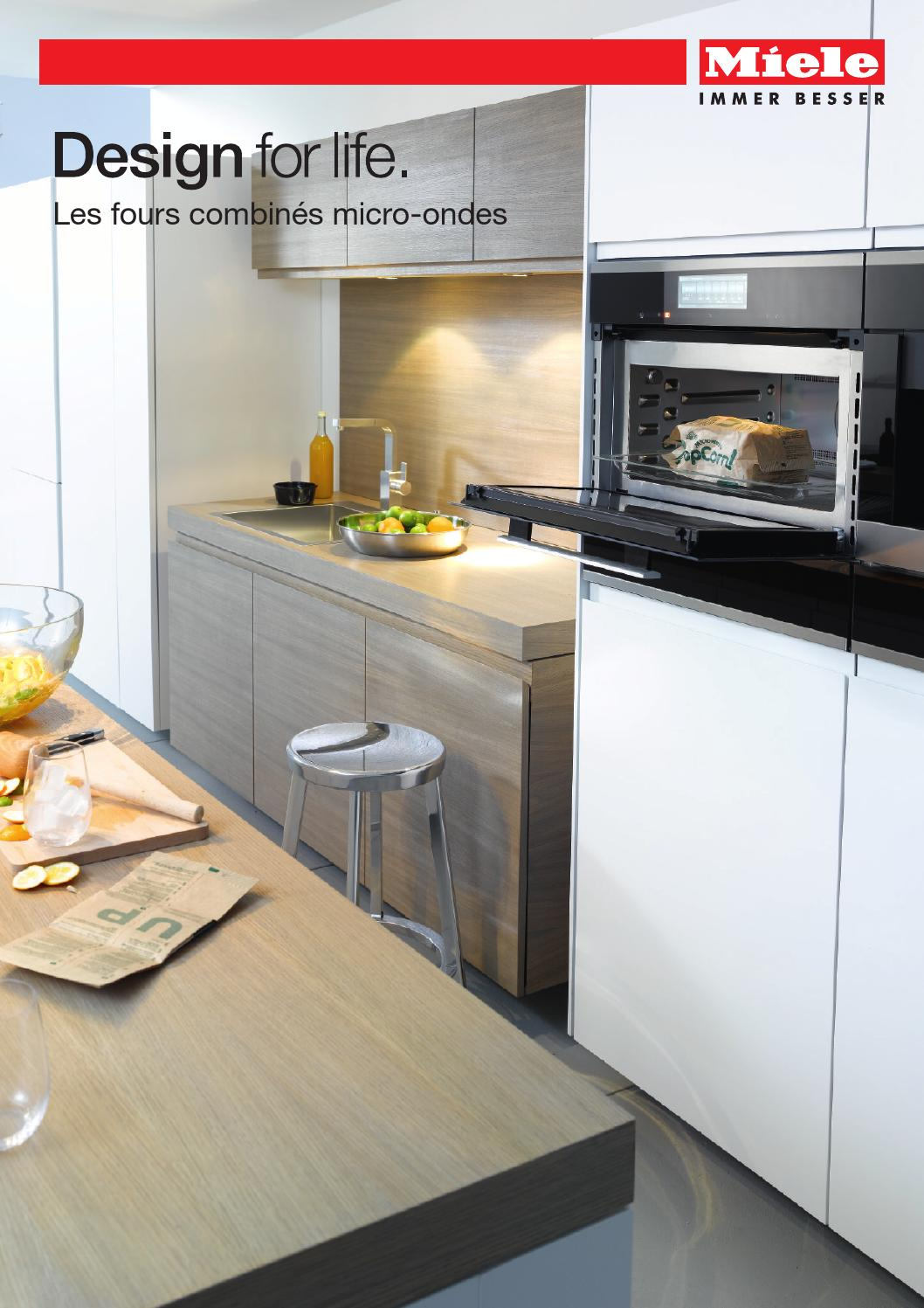 miele catalogue les fours combin s micro ondes fr by miele issuu. Black Bedroom Furniture Sets. Home Design Ideas