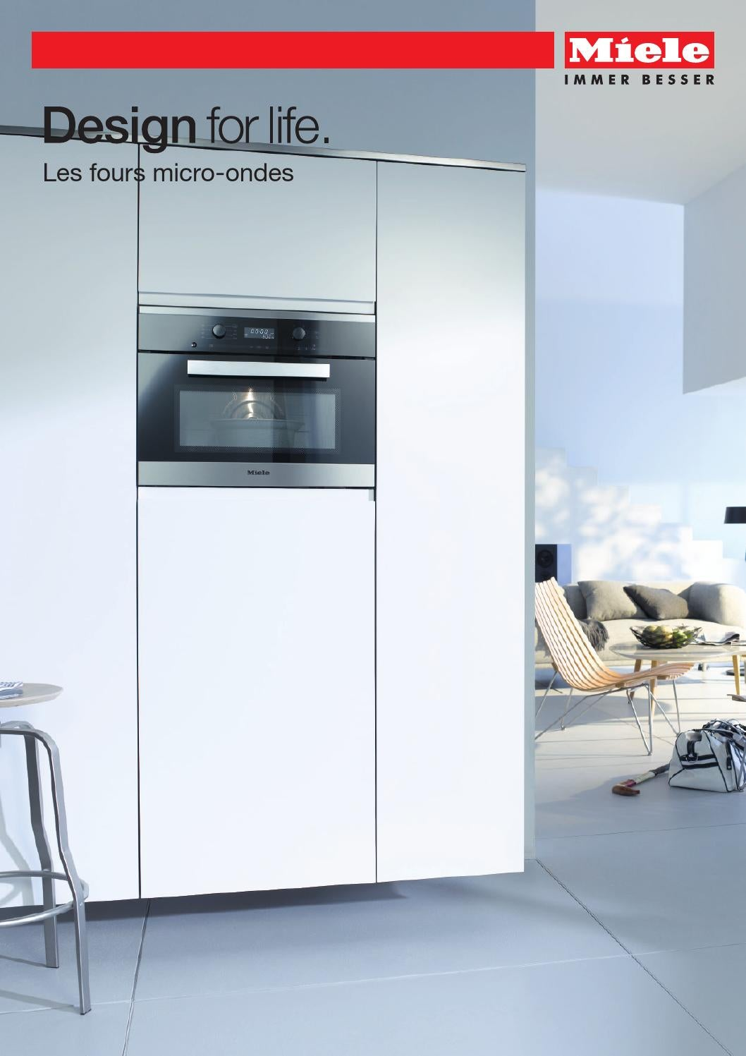 Miele catalogue les fours micro ondes fr by miele issuu - Four micro onde vapeur miele ...