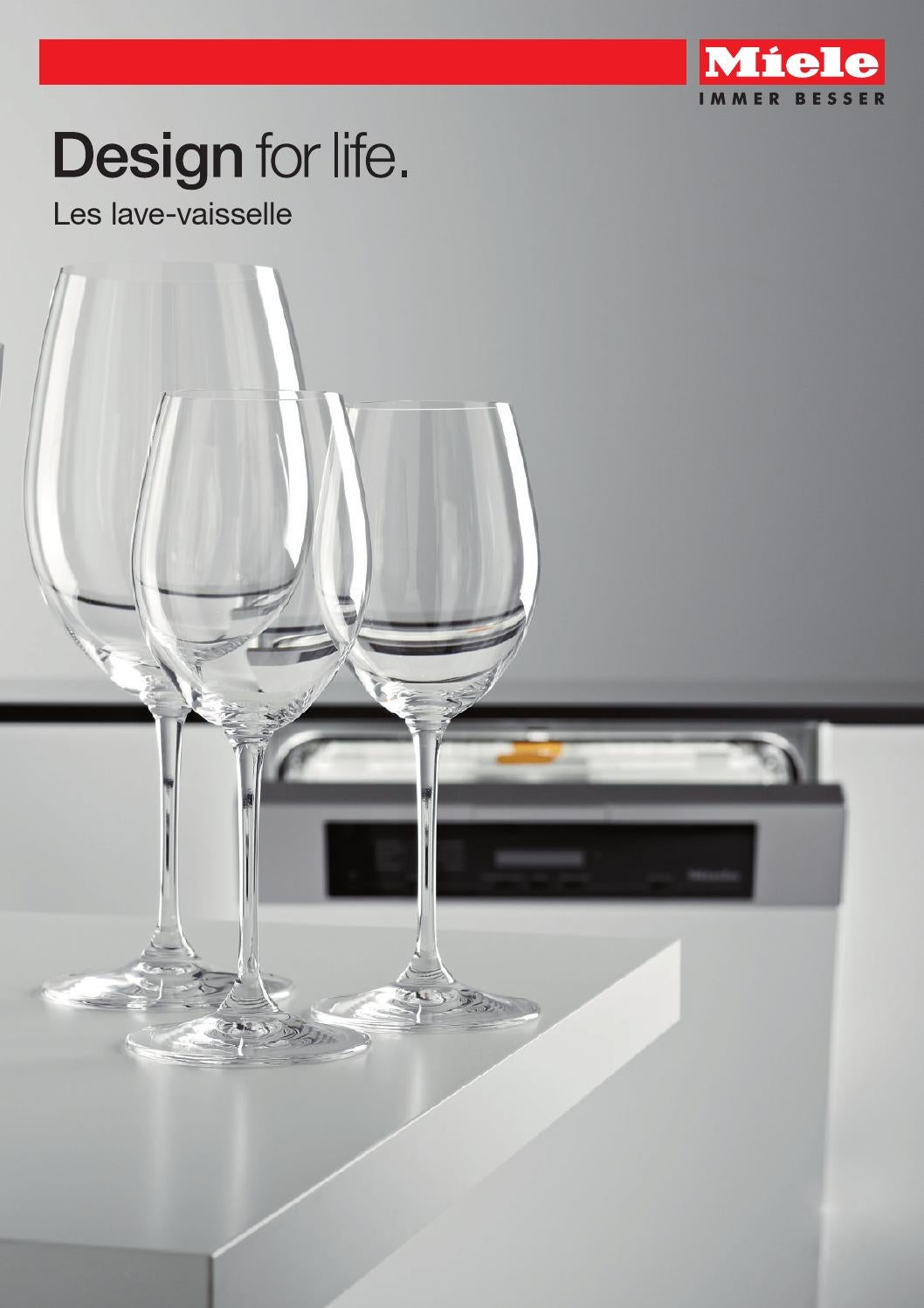miele catalogue les lave vaisselle fr by miele issuu. Black Bedroom Furniture Sets. Home Design Ideas