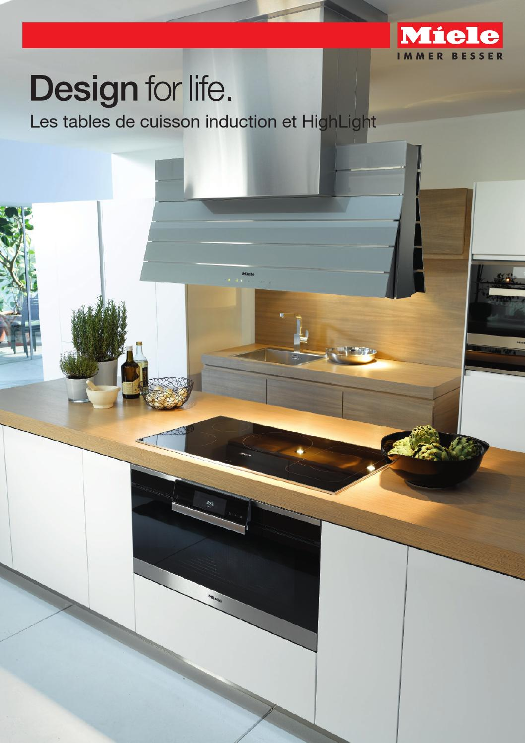 miele catalogue les tables de cuisson induction et highlight fr by miele issuu. Black Bedroom Furniture Sets. Home Design Ideas