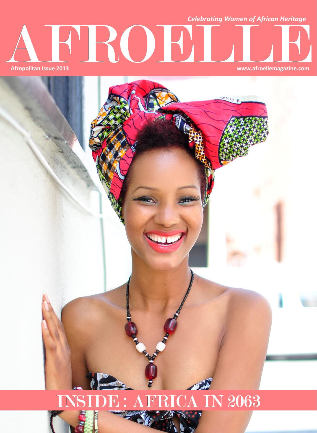 AfroElle Magazine's Afropolitan Issue 2013 by Afroelle