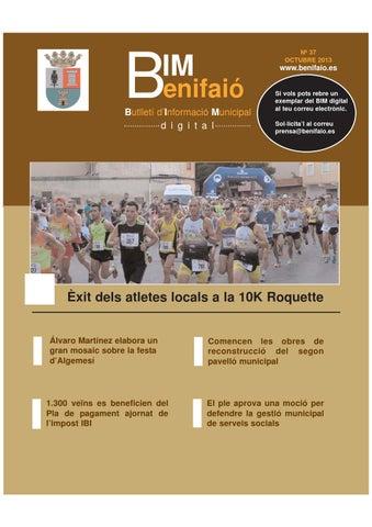 Bim virtual benifai octubre 2013 by gabinet premsa i - Piscina coberta algemesi ...