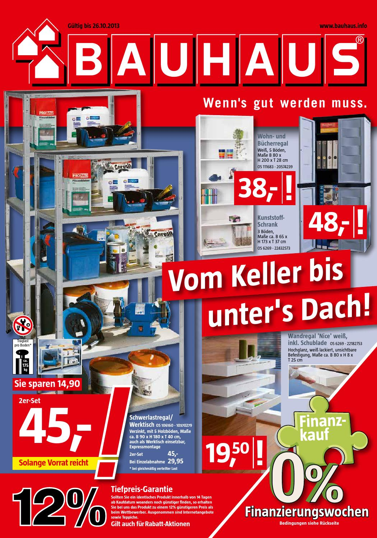 Bauhaus Angebote 29september 26oktober2013 By Promoprospekte De