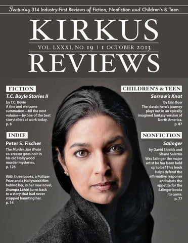 October 01, 2013: Volume LXXXI, No 19 by Kirkus Reviews - issuu