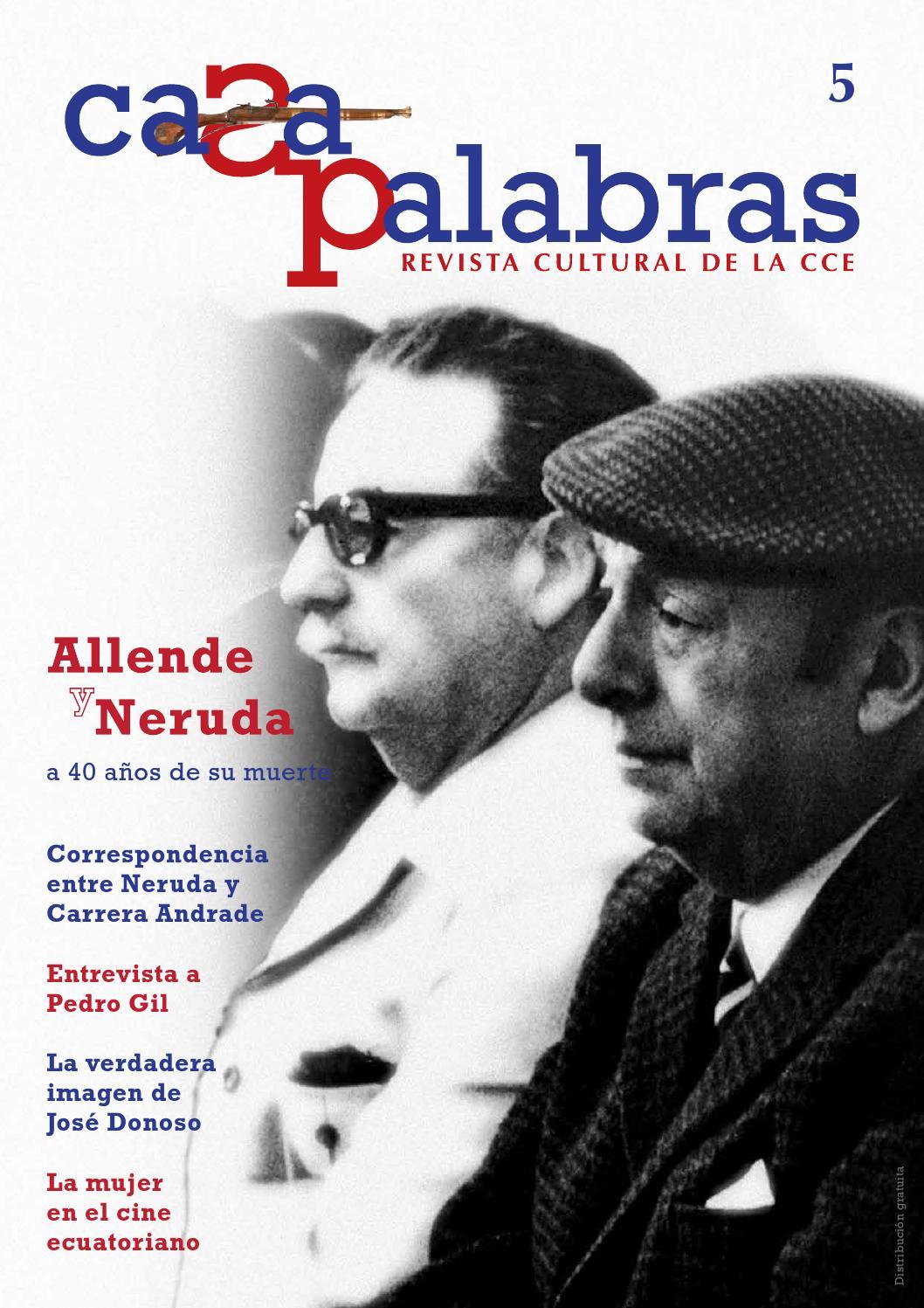 Casa Palabras N° 5 by Revistas de la Casa de la Cultura Ecuatoriana ...