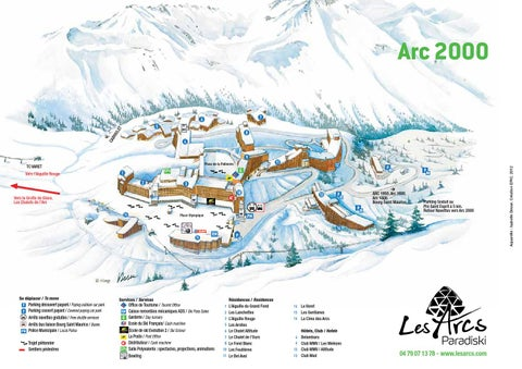 Plan Arc 2000 by Bourg Saint Maurice Les Arcs issuu
