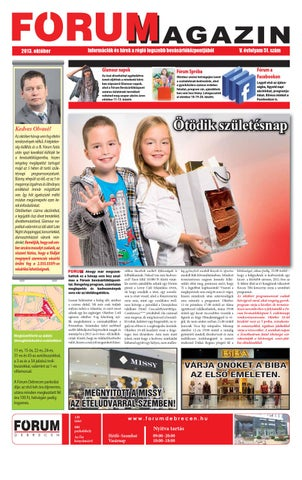 73b58123ecd2 FÓRUM Magazin 2013/10 by Company Info Kft. - issuu