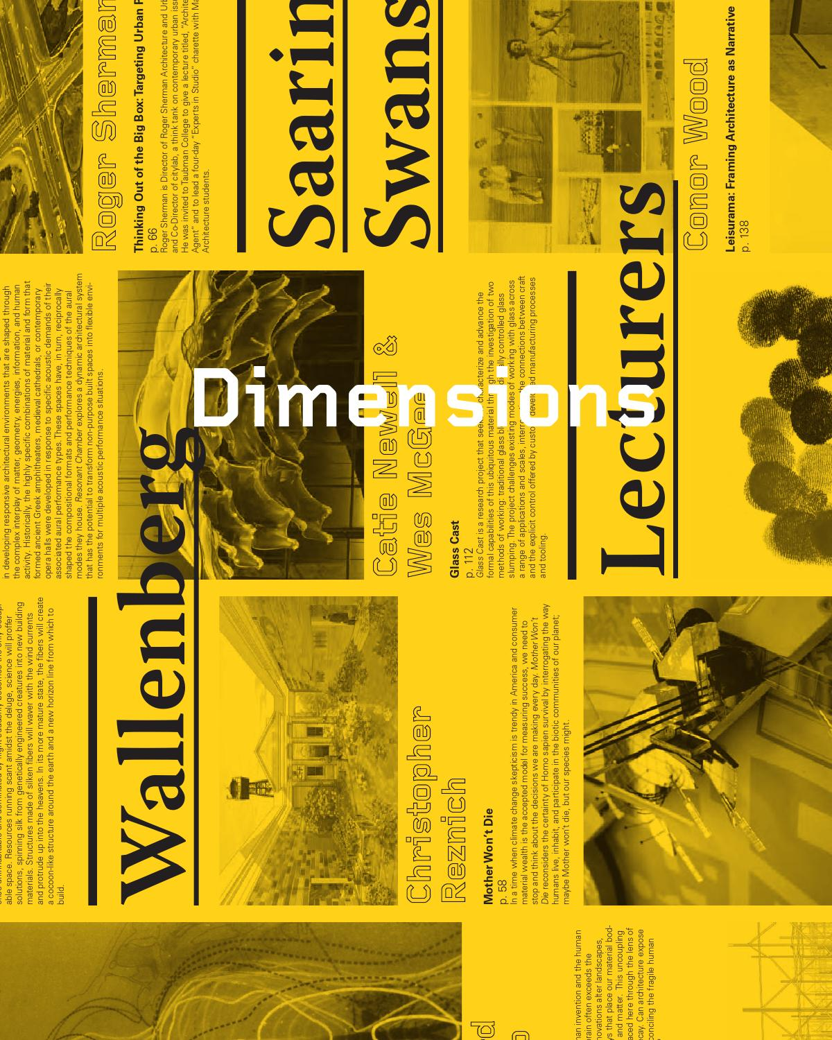 5dbda576638 Dimensions 26 by Taubman College of Architecture and Urban Plannin - issuu