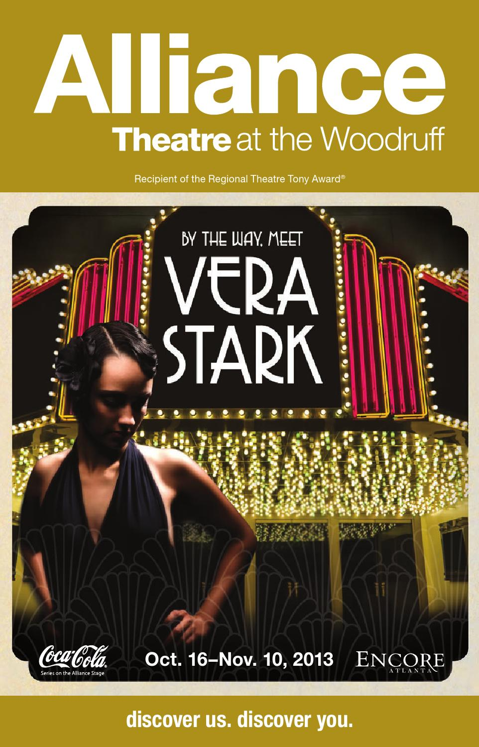 Alliance Theatre: By the Way, Meet Vera Stark by Encore