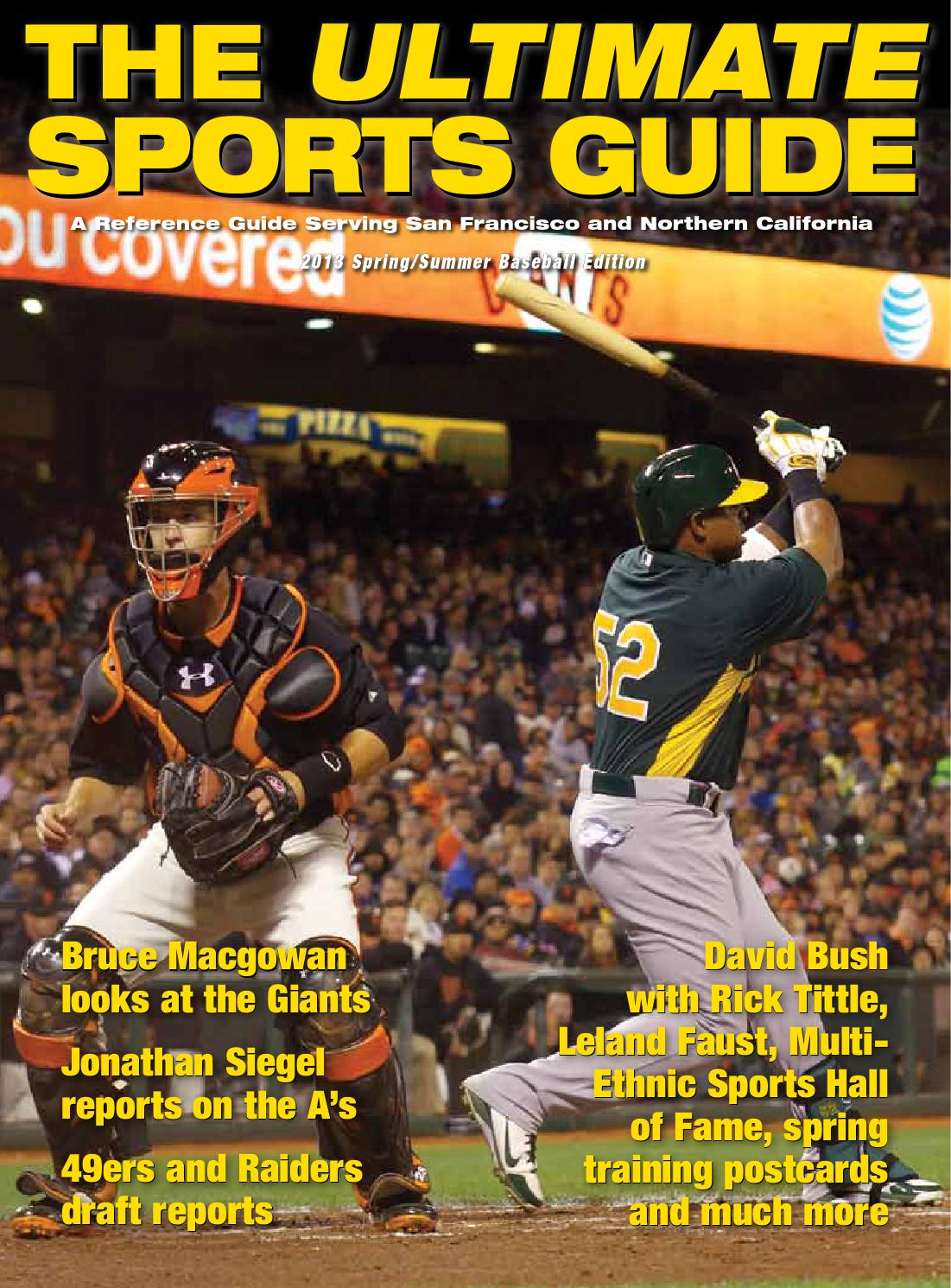 2013 mlb usg by the ultimate sports guide issuu.