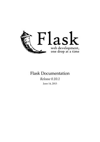 Flask docs by yeppazu issuu flask documentation release 0101 june 14 2013 malvernweather Image collections