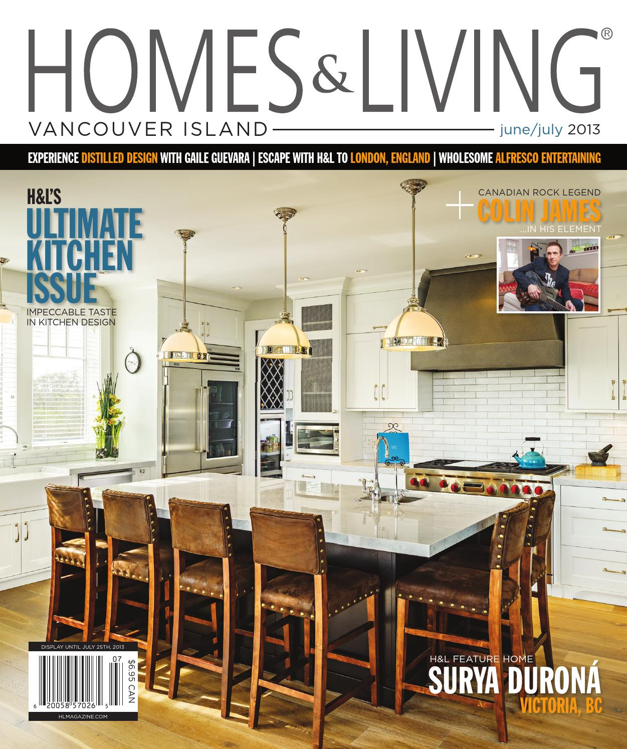 Vancouver Living: Homes & Living Magazine Vancouver Island June/July 2013
