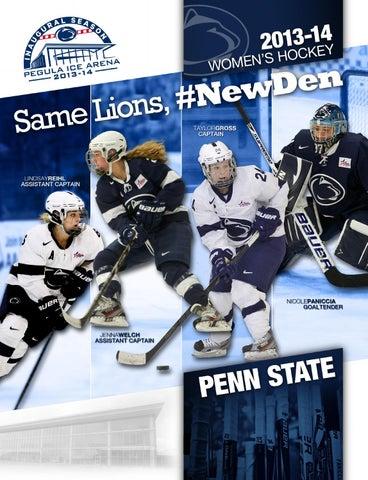 2013 14 Penn State Womens Hockey Yearbook