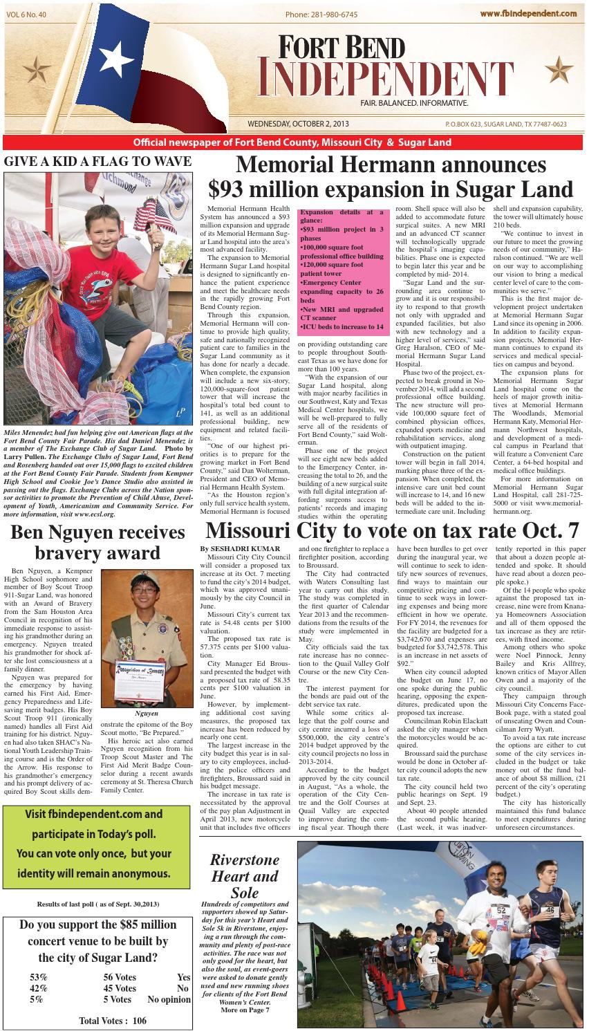 Fort Bend Independent By Fort Bend Independent Issuu