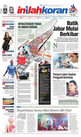 Batik Jabar Mulai Berkibar By Inilah Koran
