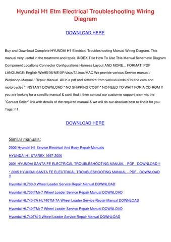 2002 hyundai santa fe repair manual pdf