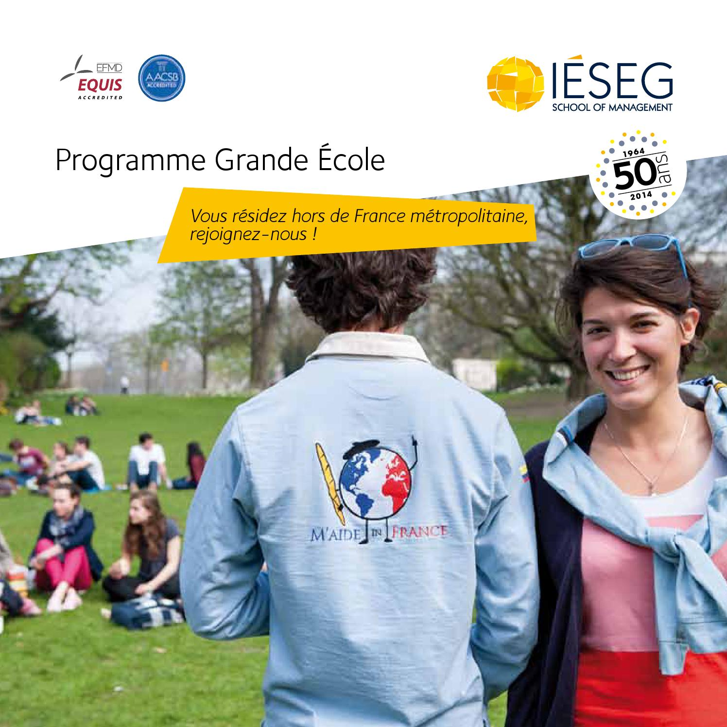 Calendrier Academique Ieseg.Admission Lycees Francais By Ieseg Issuu