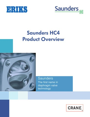 Saunders hc4 afp valves product overview by eriks nederland issuu page 1 ccuart Choice Image