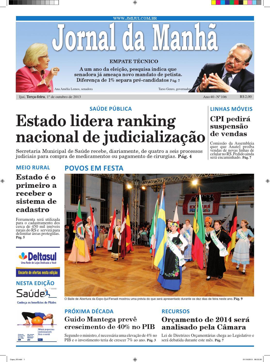 Jornal da Manhã 01.10.2013 by Classificados Jornal da Manhã - issuu 731d0ef7ef200
