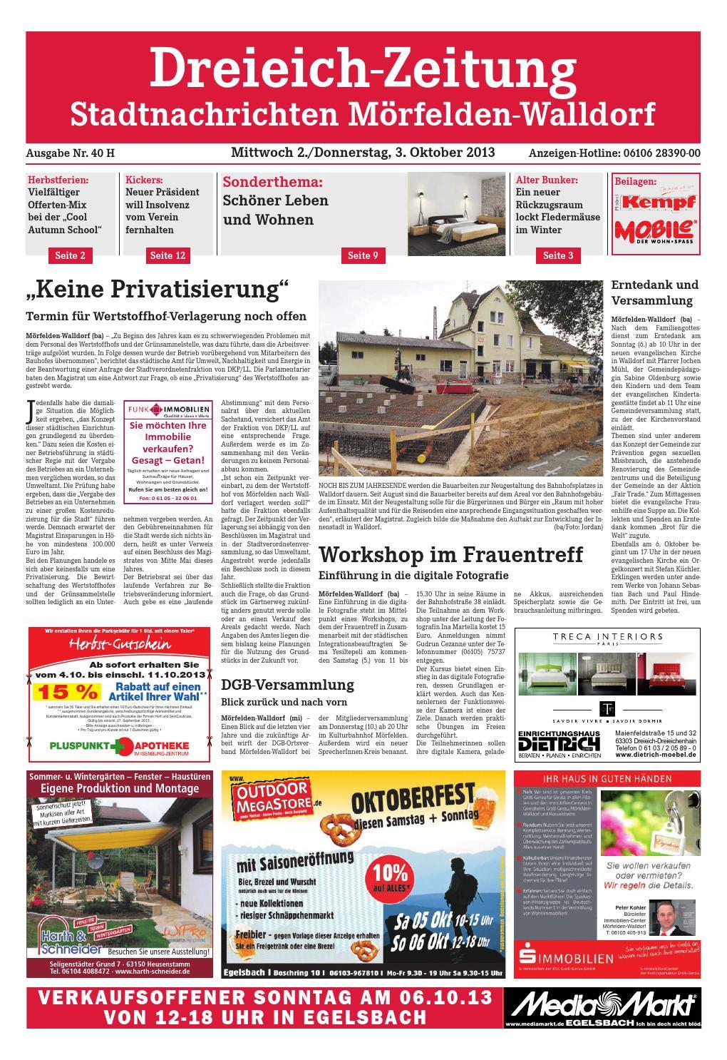 Dz online 040 13 h by Dreieich ZeitungOffenbach Journal issuu