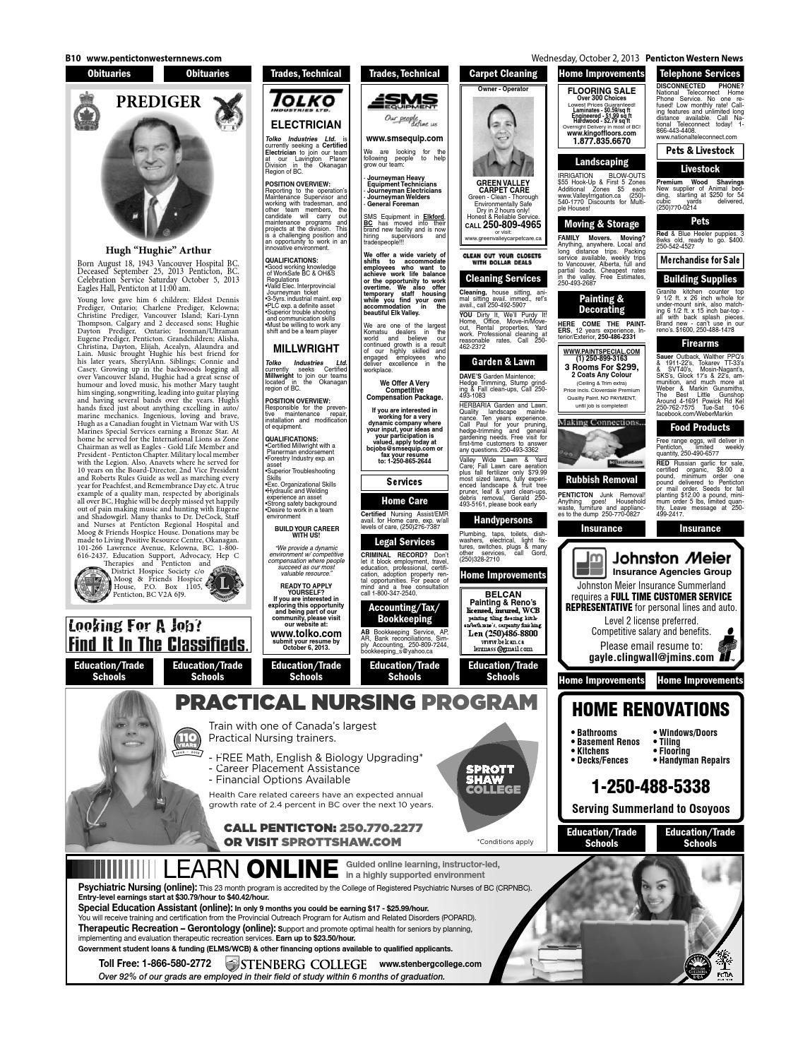 Prediger Len penticton october 02 2013 by black press issuu