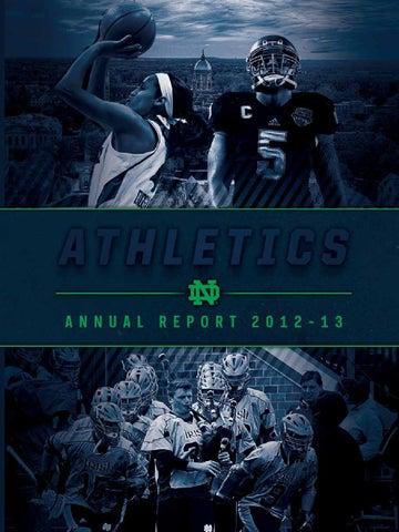 super popular 25e51 b84e2 2012-13 University of Notre Dame Athletics Annual Report