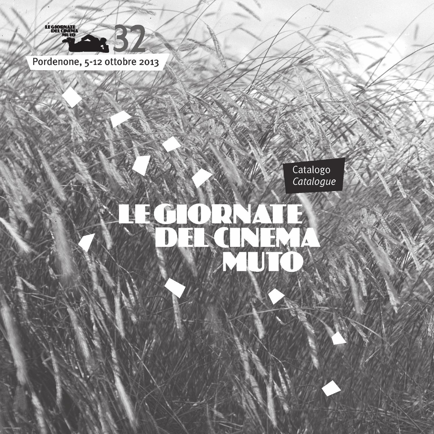 1602be6273 Catalogo/Catalogue by Le Giornate del Cinema Muto - issuu