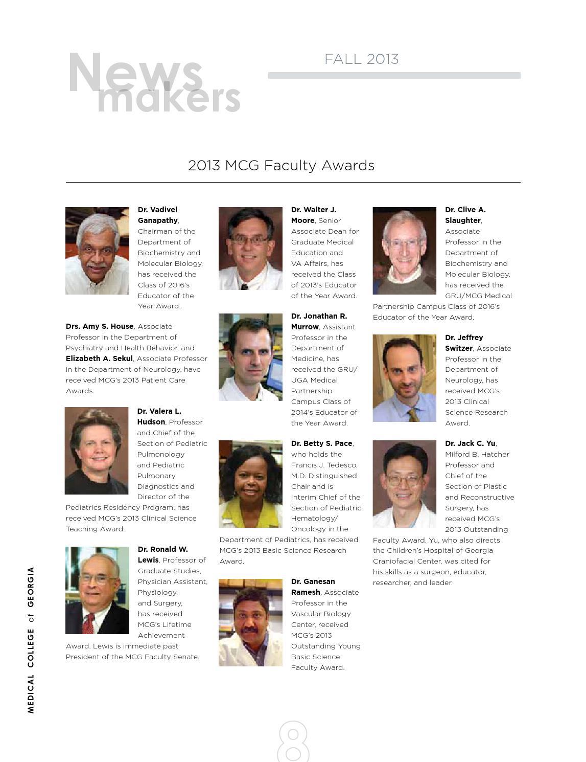 MCG Medicine Magazine by Augusta University - issuu