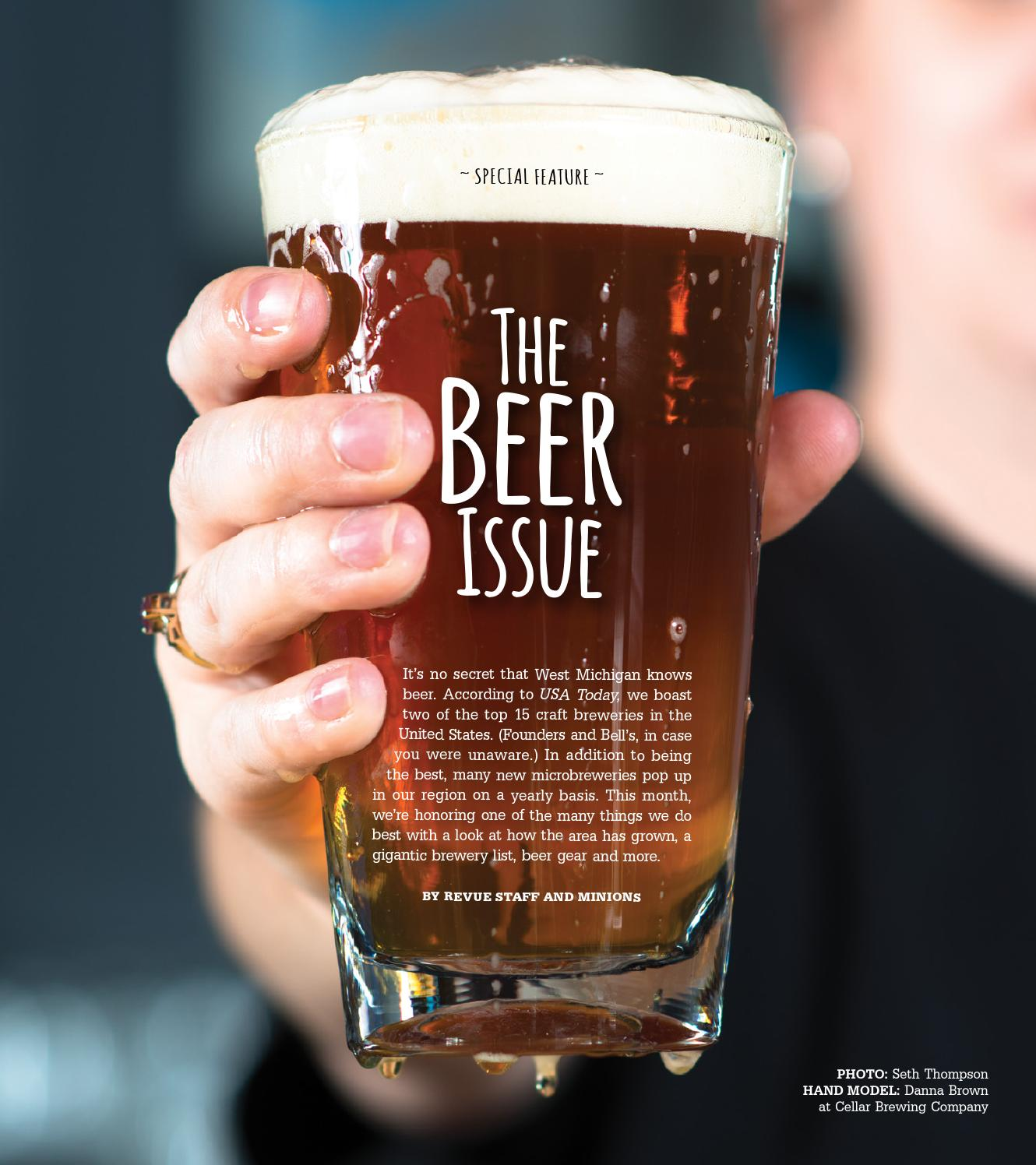 4fe0e8529 The Beer Issue, October 2013 by Revue Magazine - issuu