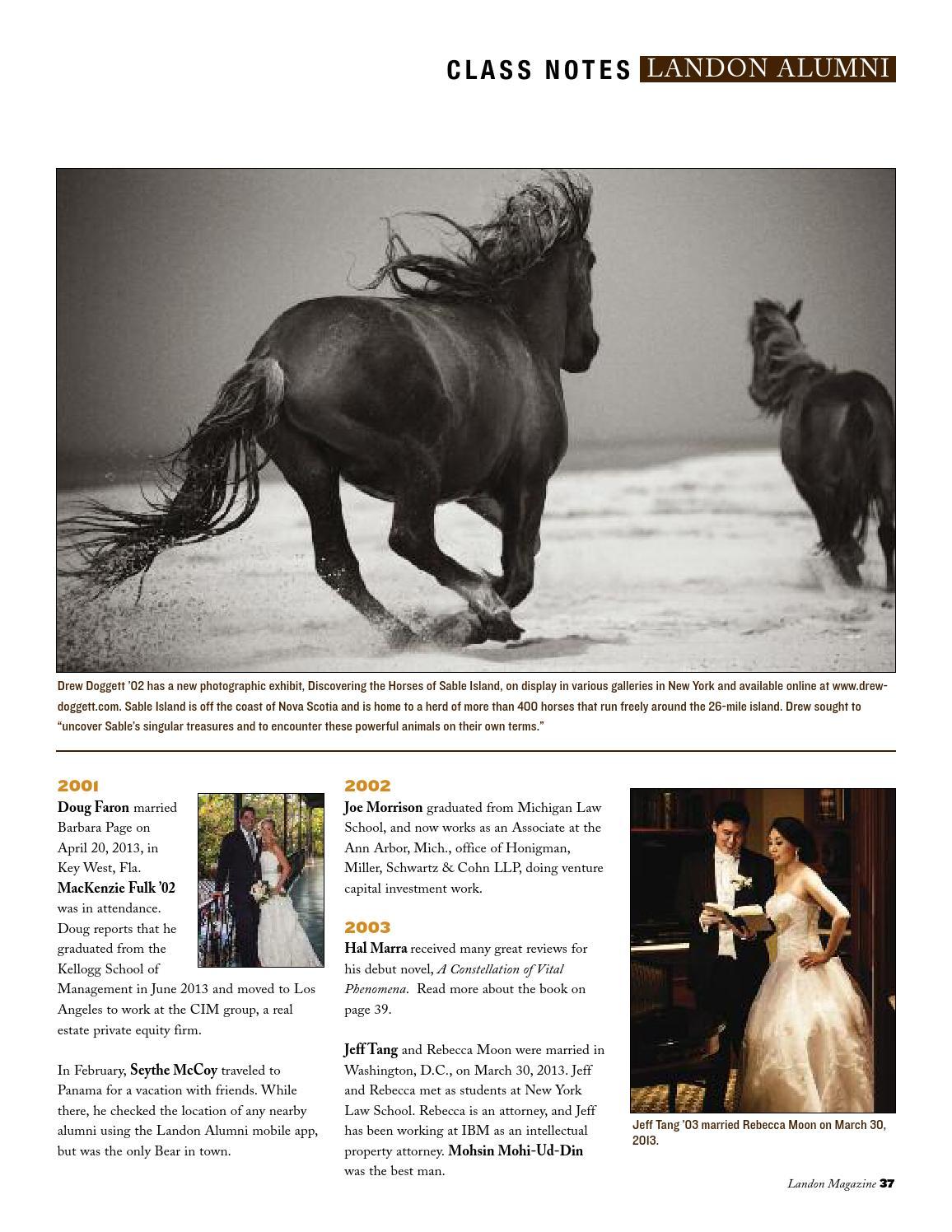 Landon Magazine Fall 2013 by Landon School - issuu