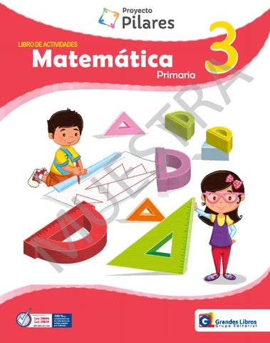 Proyecto Pilares - Matematica 3° - Libro de Actividades by Grandes ...