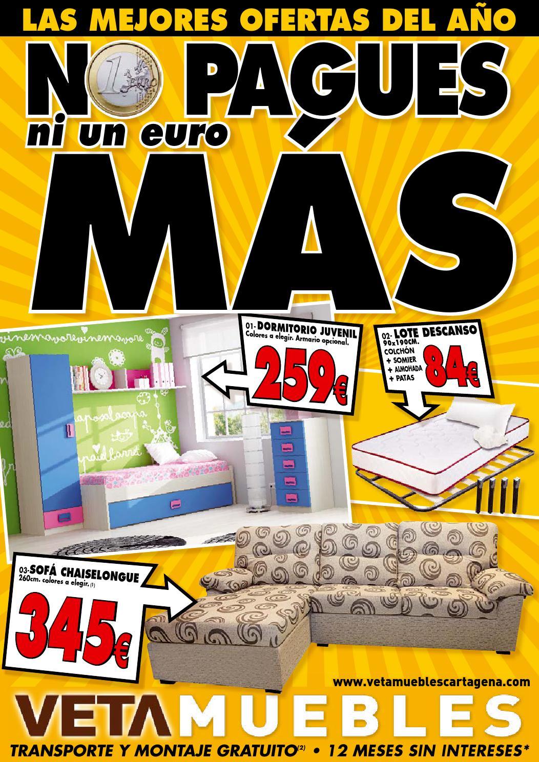 Veta Muebles Cartagena Octubre 2013 Enero 2014 By Veta Muebles  # Muebles Veta Llano Del Beal