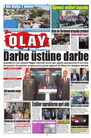 03 10 2013 Gazete Sayfalari By Diyarbakir Olaygazetesi Issuu