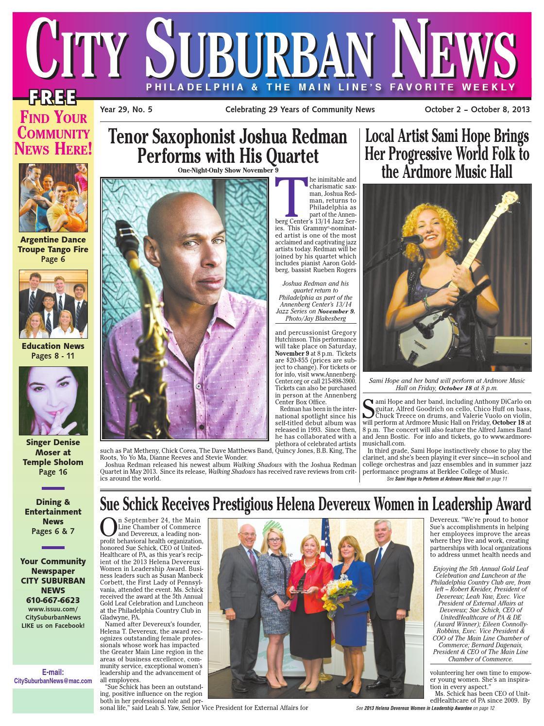 e748f4b2e342 City Suburban News 10 2 13 issue by City Suburban News - issuu