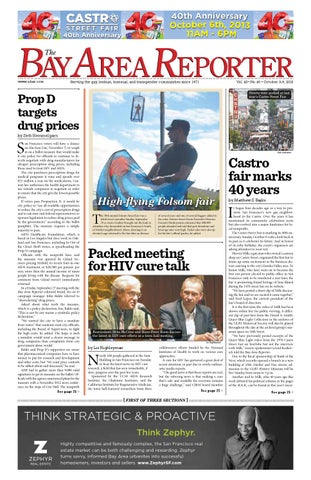 2c452eb5e8e October 3, 2013 Edition of the Bay Area Reporter by Bay Area ...